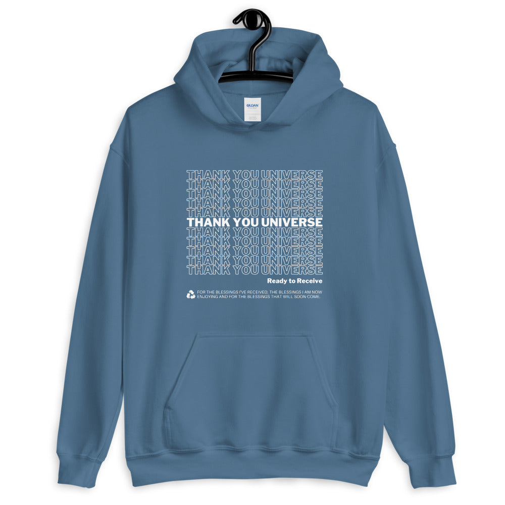 Thank You Universe Hoodie (Steel Blue) *Ships separately