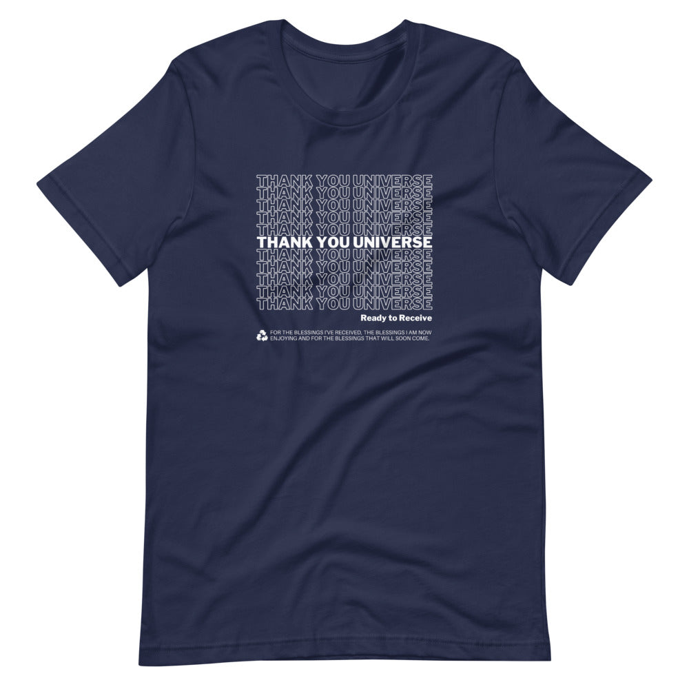 Thank You Universe T-Shirt (Navy Blue) *Ships separately