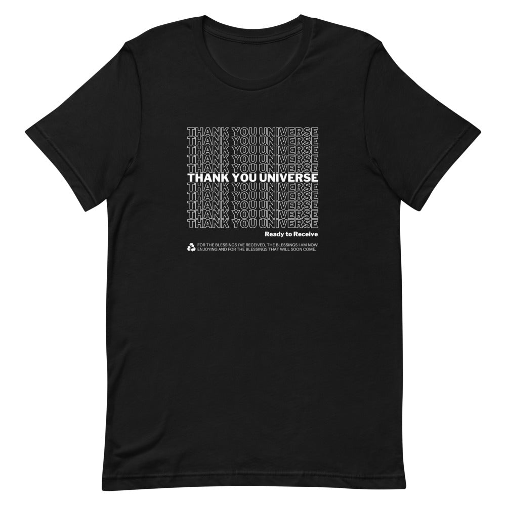 Thank You Universe T-Shirt (Black) *Ships separately