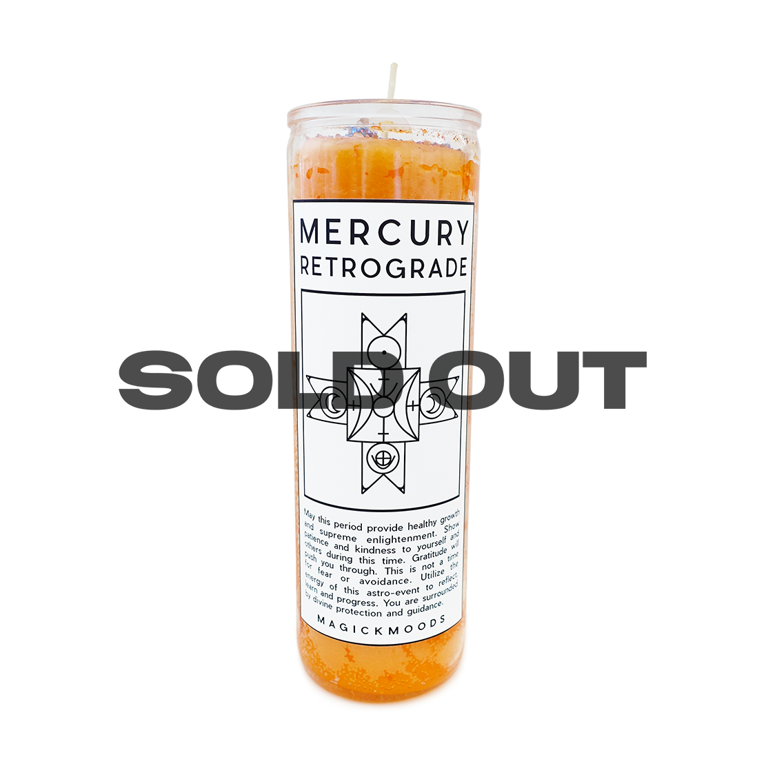 Mercury Retrograde Protection 7-Day Meditation Candle - PREORDER - Ships by 8/14