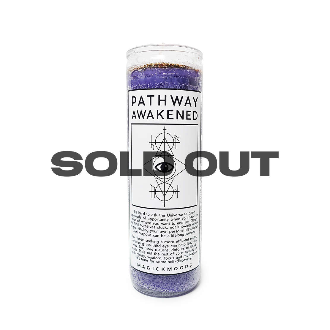 Pathway Awakened 7-Day Meditation Candle - PREORDER - Ships by 8/14