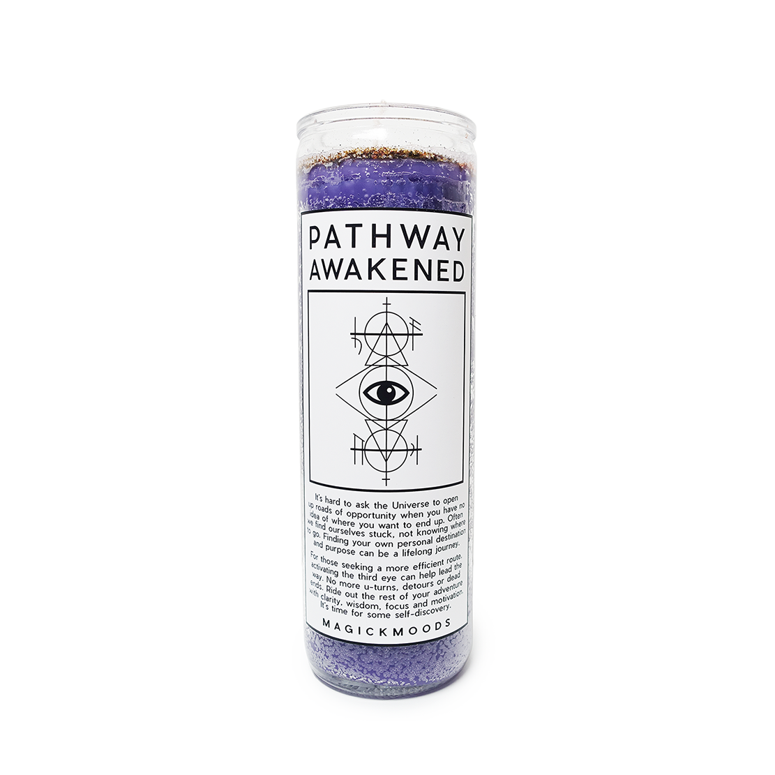 Pathway Awakened 7-Day Meditation Candle - PREORDER - Ships by 12/15