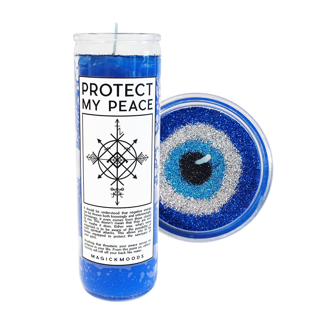Protect My Peace 7-Day Meditation Candle - PREORDER- Ships by 12/15