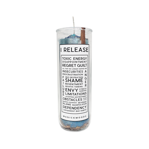 I Release 7-Day Meditation Candle - PREORDER - Ships by 12/17