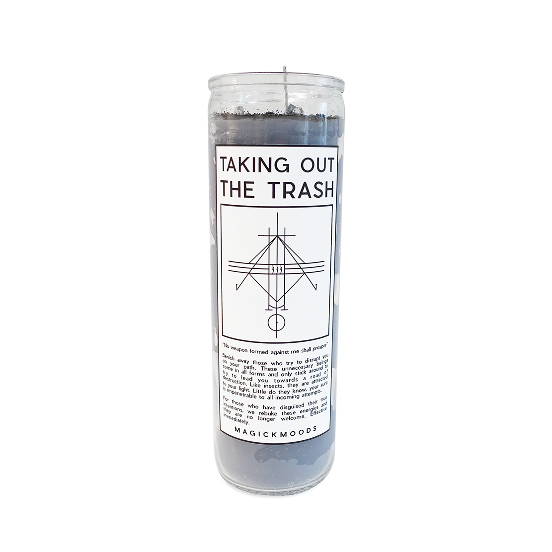 Taking Out The Trash 7-Day Meditation Candle - PREORDER - Ships by 12/15