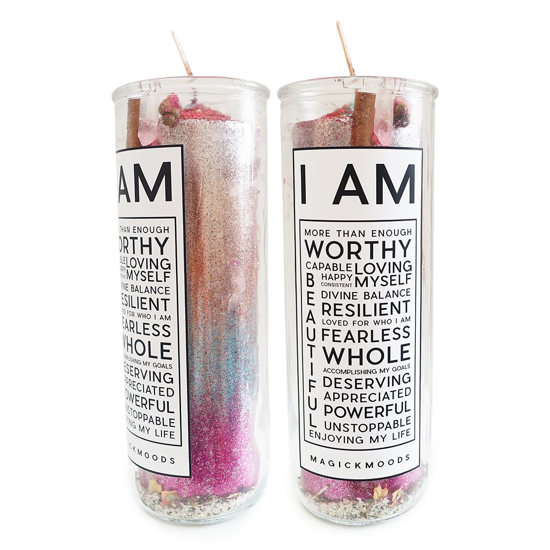 I Am Enough 7-Day Meditation Candle - PREORDER - Ships by 12/15