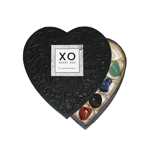 XO Crystal Heart Box