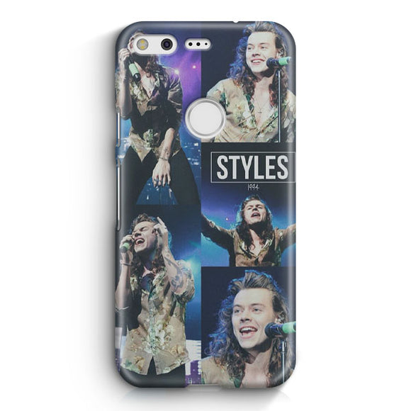 1 Direction Harry Styles Google Pixel Case | Tridicase