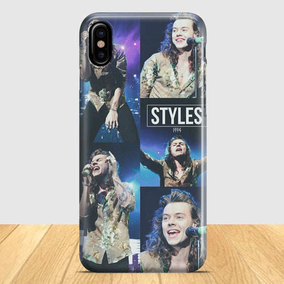 1 Direction Harry Styles iPhone X Case | Tridicase