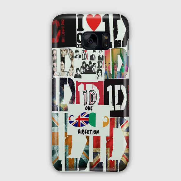 1D One Direction Samsung Galaxy S7 Edge Case | Tridicase