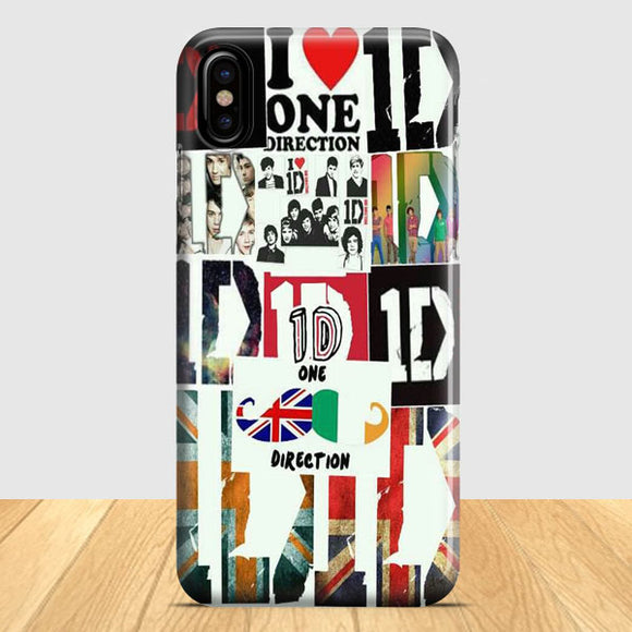 1D One Direction iPhone X Case | Tridicase