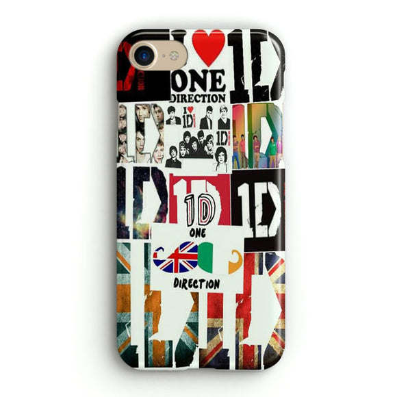 1D One Direction iPhone 8 Case | Tridicase