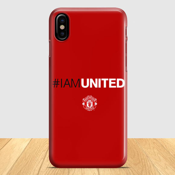 2015 Manchester United iPhone X Case | Tridicase