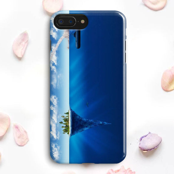 3D Sea Island Abstract iPhone 7 Plus Case | Tridicase