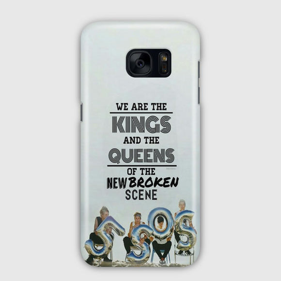 5 Sos Kings And Queens Samsung Galaxy S7 Edge Case | Tridicase