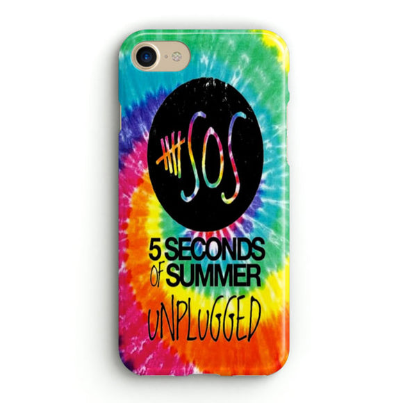 5 Sos Unplugged iPhone 8 Case | Tridicase