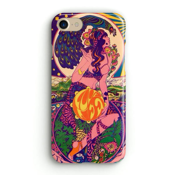60S Psychedelic iPhone 8 Case | Tridicase