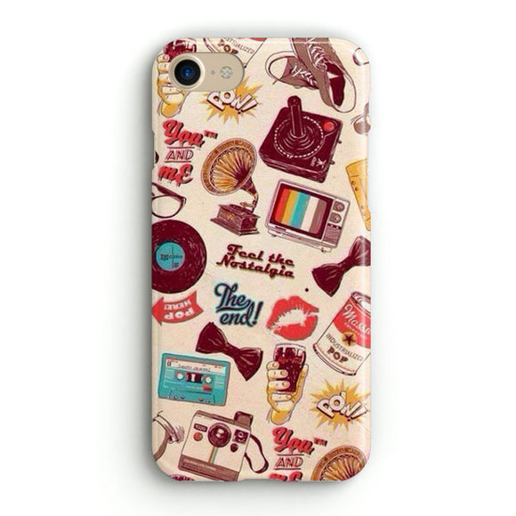 90S Nerd Vintage Compilation iPhone 6 | 6S Case | Tridicase
