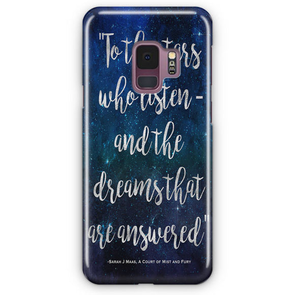 A Court Of Mist And Fury Samsung Galaxy S9 Case | Tridicase