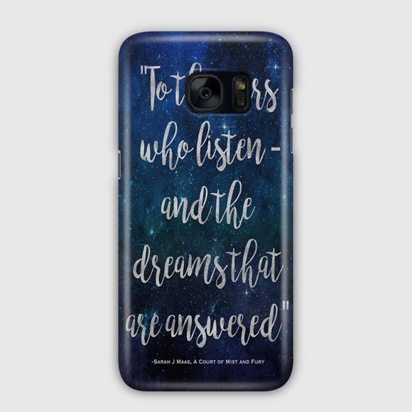A Court Of Mist And Fury Samsung Galaxy S7 Edge Case | Tridicase