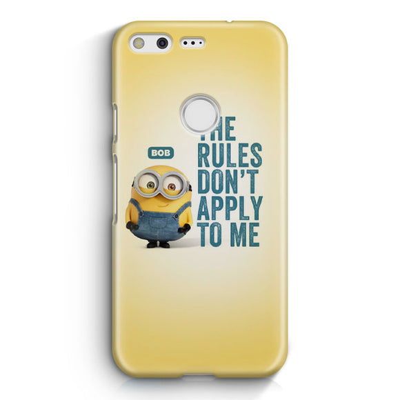 A Cute Collection Of Minions Google Pixel Case | Tridicase