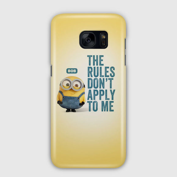 A Cute Collection Of Minions Samsung Galaxy S7 Edge Case | Tridicase