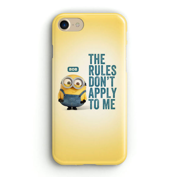A Cute Collection Of Minions iPhone 8 Case | Tridicase