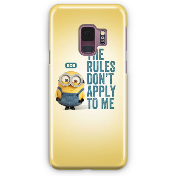 A Cute Collection Of Minions Samsung Galaxy S9 Case | Tridicase