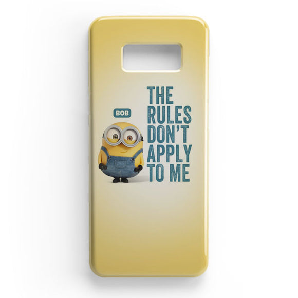 A Cute Collection Of Minions Samsung Galaxy S8 Plus Case | Tridicase