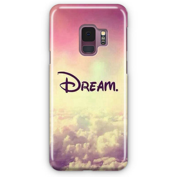 A Dream Is A Wish Samsung Galaxy S9 Case | Tridicase