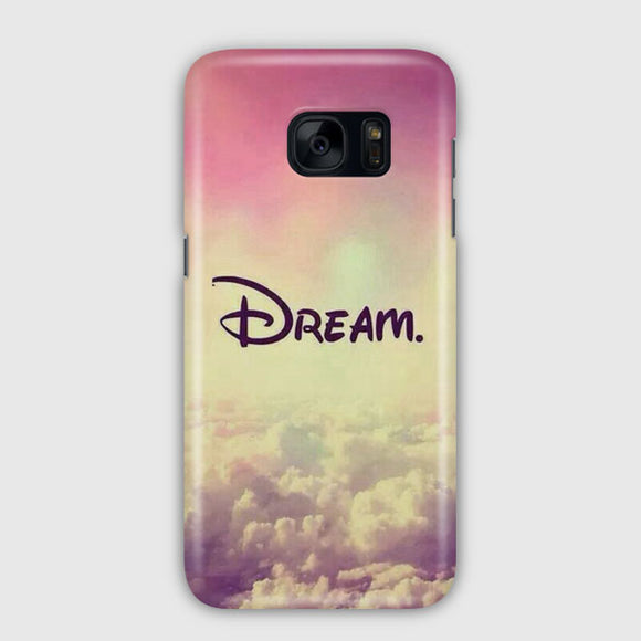 A Dream Is A Wish Samsung Galaxy S7 Edge Case | Tridicase