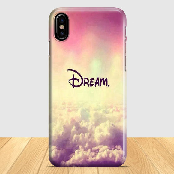 A Dream Is A Wish Your Heart iPhone X Case | Tridicase