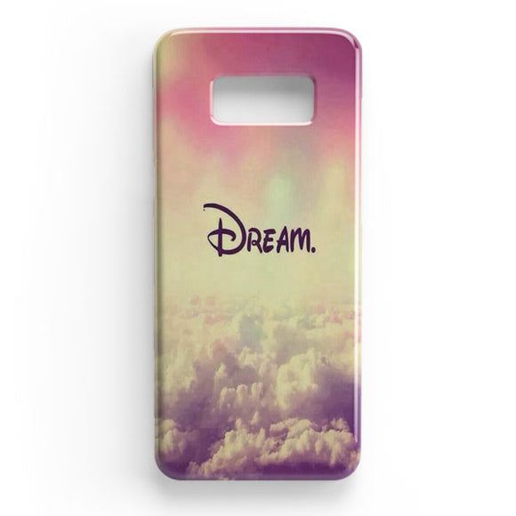 A Dream Is A Wish Your Heart Samsung Galaxy S8 Plus Case | Tridicase