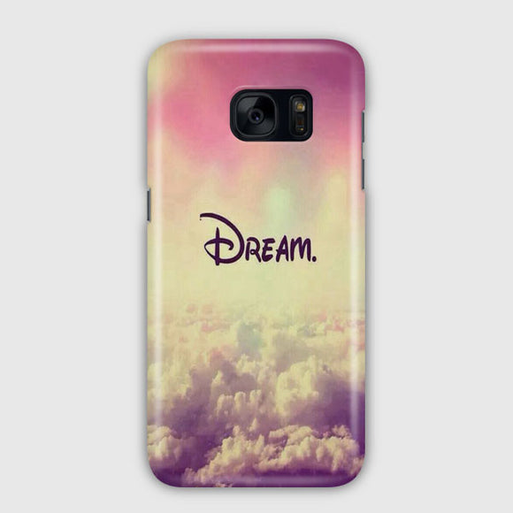 A Dream Is A Wish Your Heart Samsung Galaxy S7 Edge Case | Tridicase