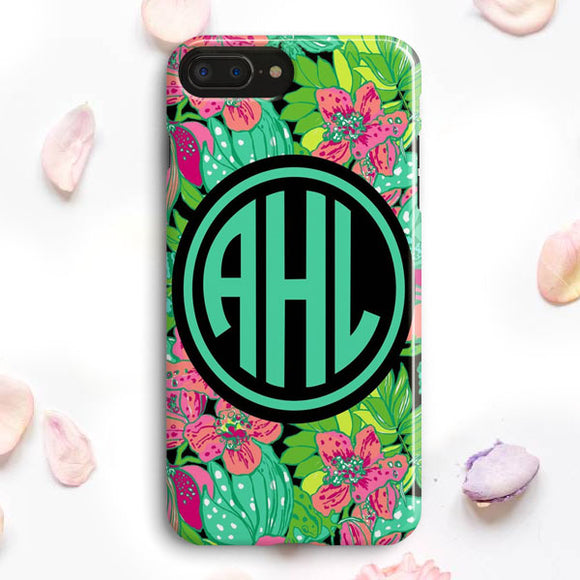 A Monogram iPhone 7 Plus Case | Tridicase