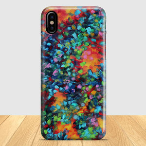 Abstract Art iPhone X Case | Tridicase