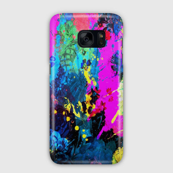 Abstract Art Bold Colorful Samsung Galaxy S7 Edge Case | Tridicase