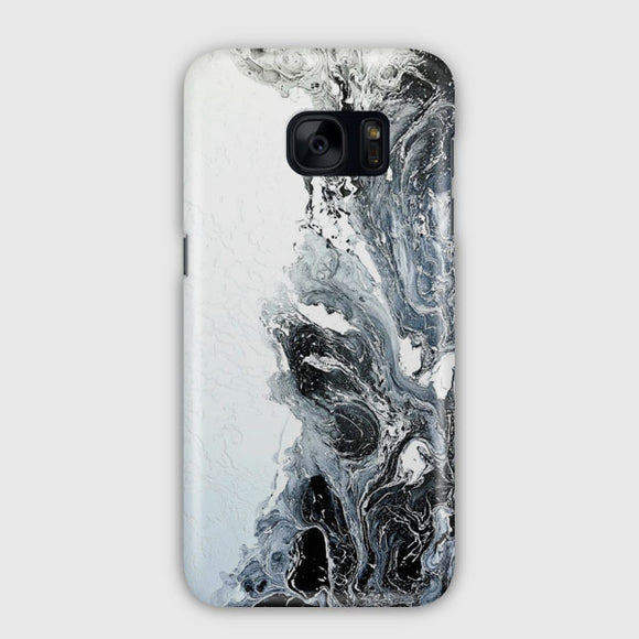 Abstract Black Marble Samsung Galaxy S7 Edge Case | Tridicase