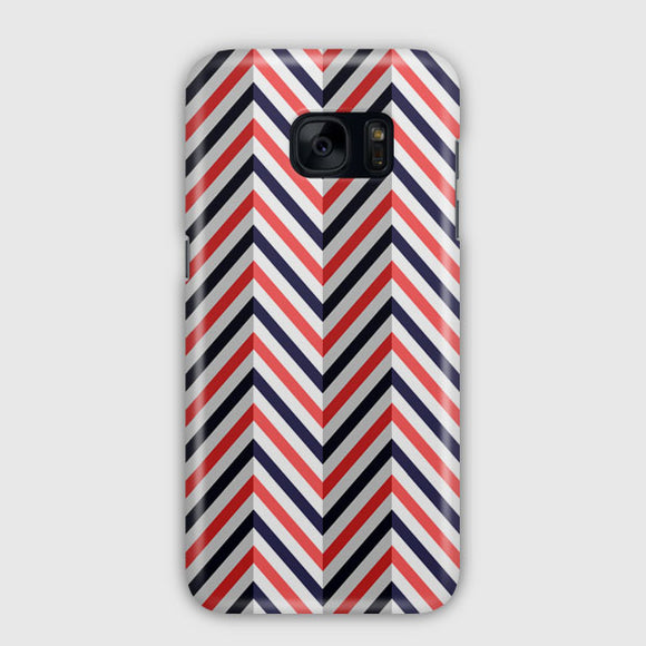Abstract Chevron Pattern Samsung Galaxy S7 Edge Case | Tridicase