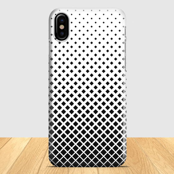 Abstract Pattern Design iPhone X Case | Tridicase