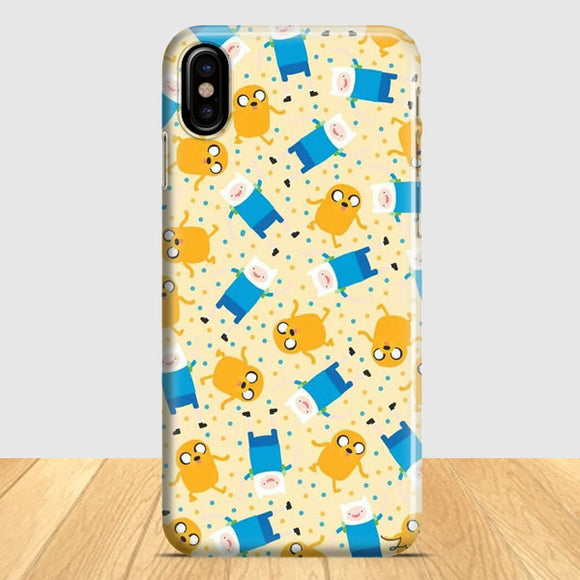 Adventure Time Pattern iPhone X Case | Tridicase