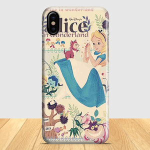Alice In Wonderland Vintage iPhone X Case | Tridicase