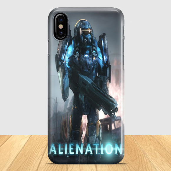 Alienation Ps4 Game iPhone X Case | Tridicase