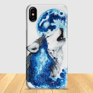 Alone As A Wolf iPhone X Case | Tridicase