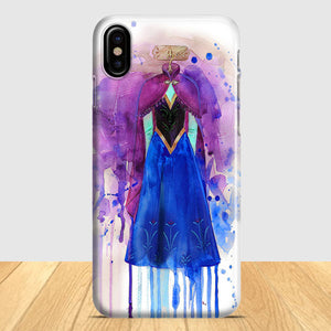 Art Print Frozen Elsa iPhone X Case | Tridicase