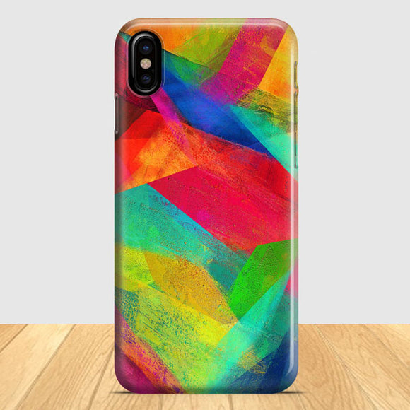 Artistic Abstrac iPhone X Case | Tridicase