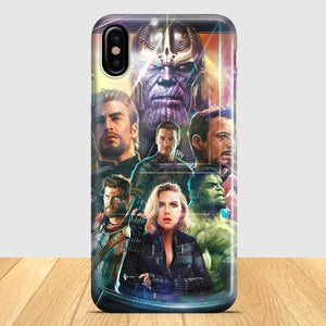 Avengers Invinity War iPhone X Case | Tridicase