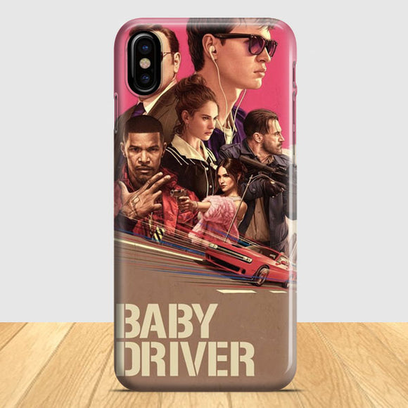 Baby Driver Poster Illustration iPhone X Case | Tridicase