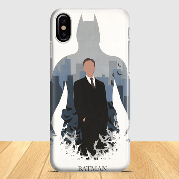 Batman Poster Artwork iPhone X Case | Tridicase