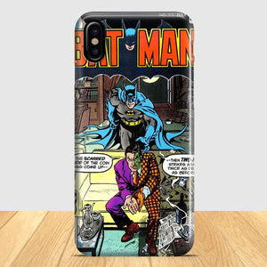 Batman Vintage Cover iPhone X Case | Tridicase